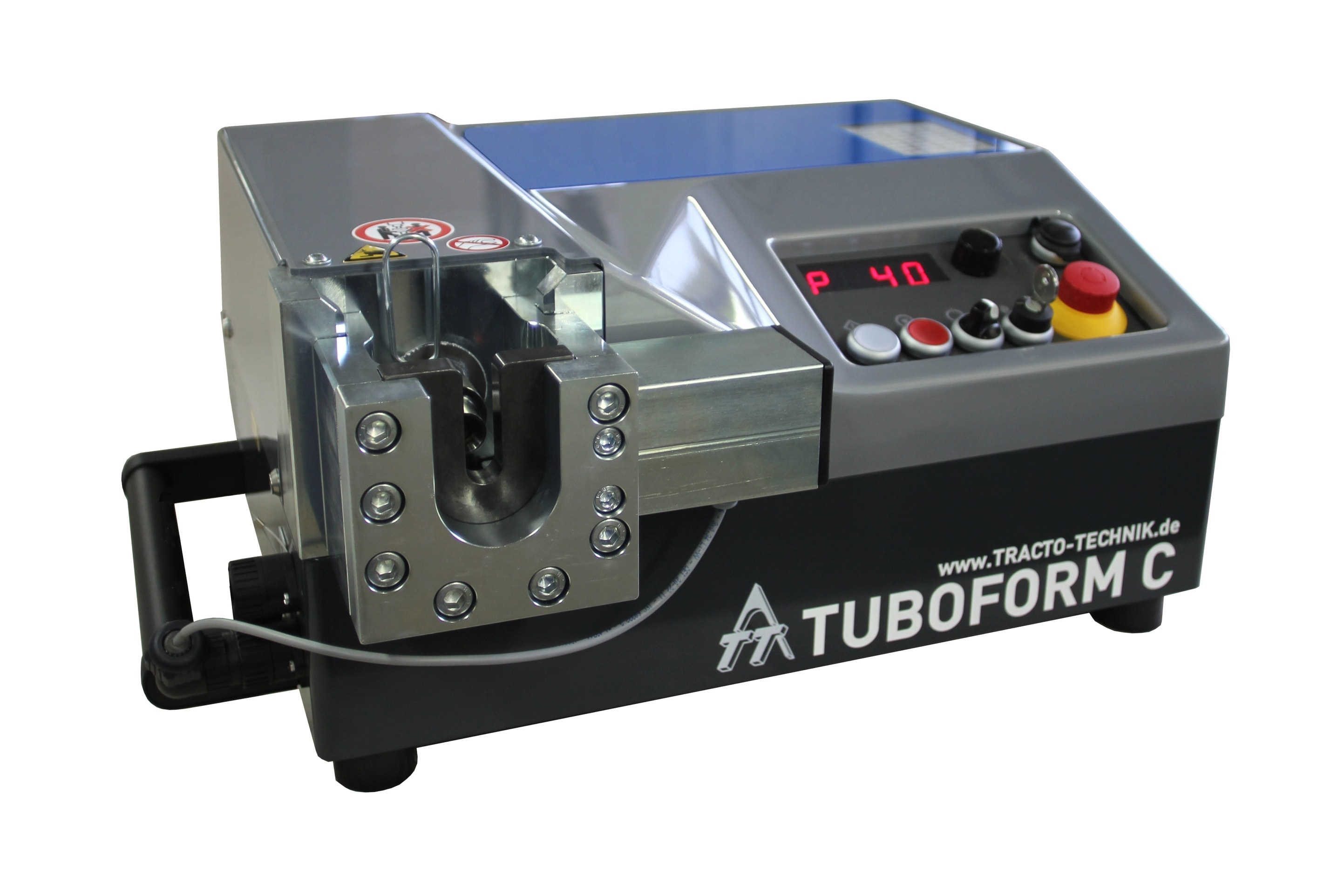 Zařízení pro nalisování střižných kroužku TUBOFORM C
