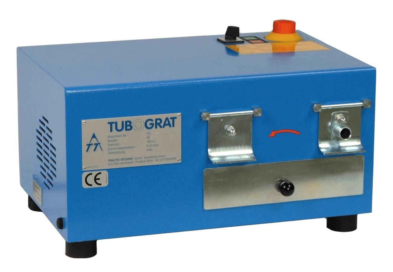 Zařízení pro odjehlování konců trubek TUBOGRAT 48
